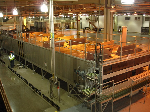 Tunnel Pasteurizers Smart Machine Smt