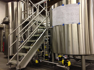 Custom stainless steel brewery tanks