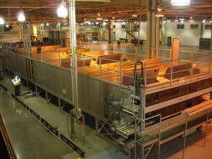 large pasteurizer for a Brewhouse