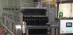 tunnel pasteurizer for carbonated beverages